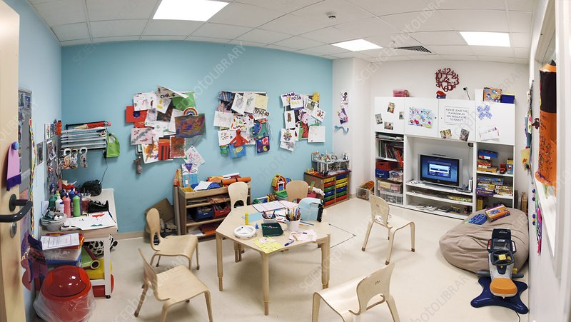 Paediatrics play room