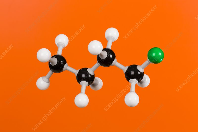 Chlorobutane, model