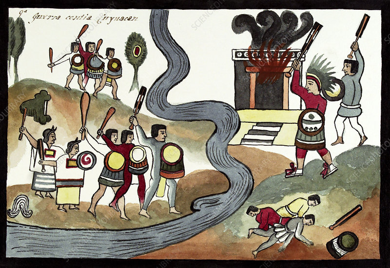 Battle of Coyoacan, 15th century