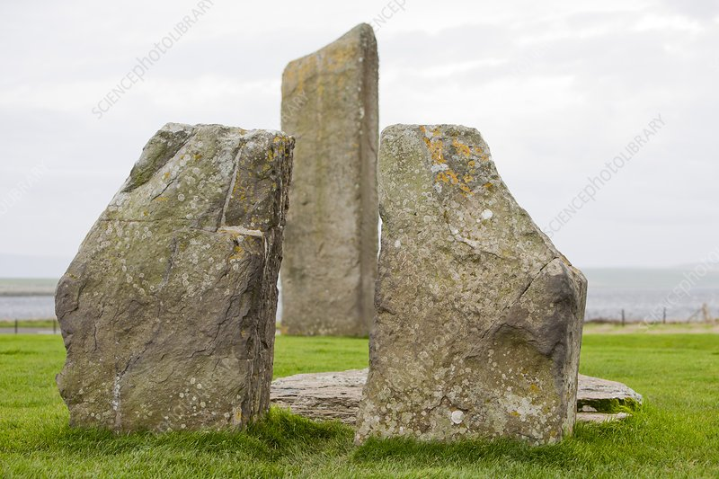 Standing Stones of Stenness, Orkney, UK