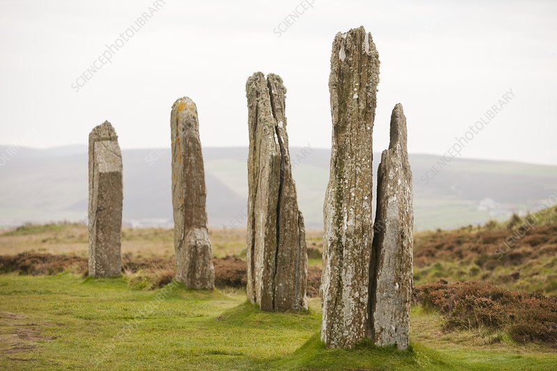 Ring of Brodgar, Orkney, UK