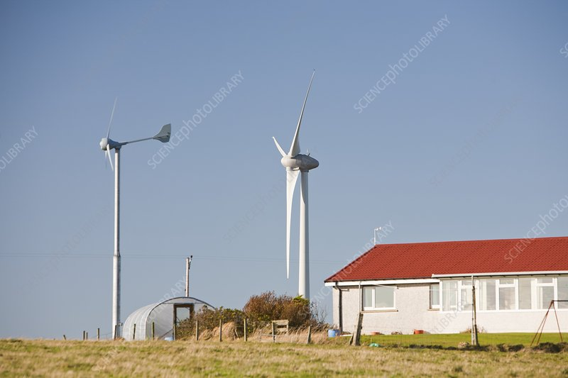 Wind power, Orkney, UK