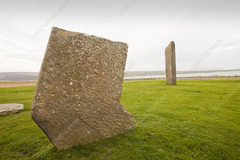 Standing Stones of Stenness , Orkney, UK