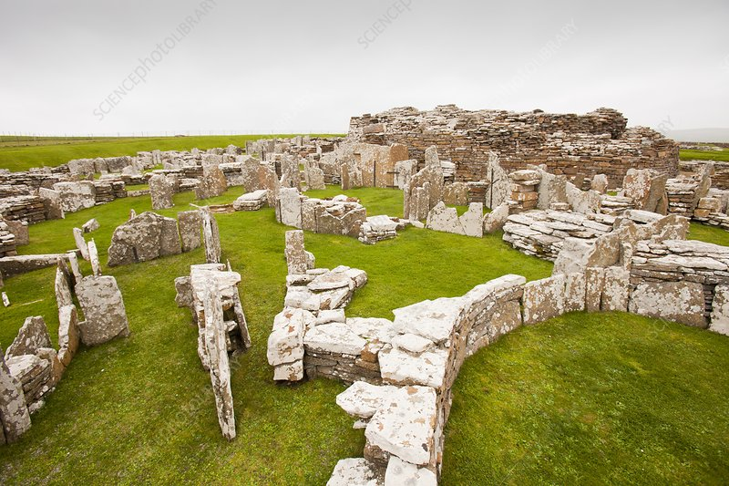 The Broch of Borwick, Orkney, UK