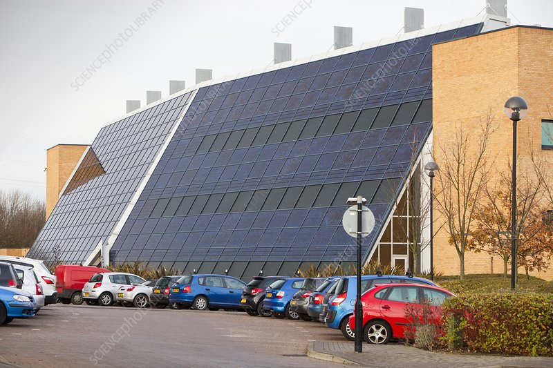 Solar office, Doxford Business Park, UK