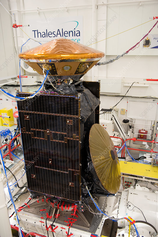 ExoMars spacecraft vibration testing