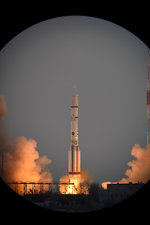 ExoMars spacecraft launch, March 2016