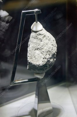 Apollo 11 Moon rock.