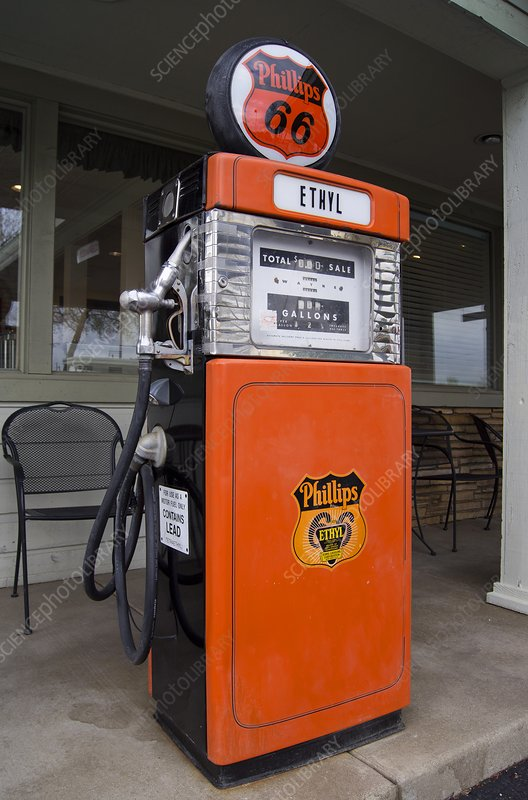 Phillips 66 gas pump.