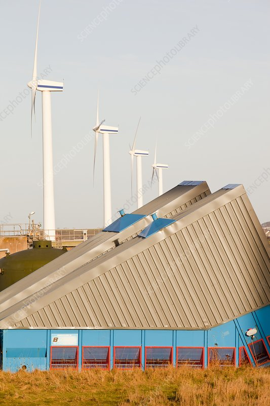 Wind turbine in Workington, UK