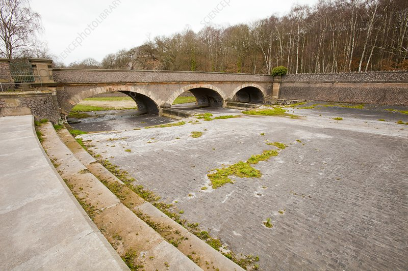 Swithland Reservoir overflow, UK