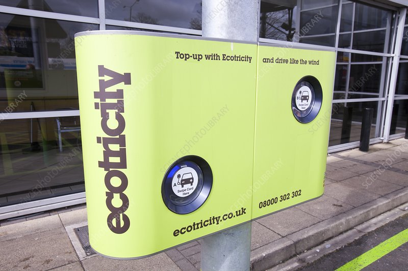 Electric car recharging station