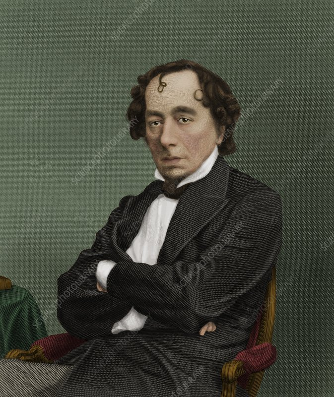 Benjamin Disraeli, British politician