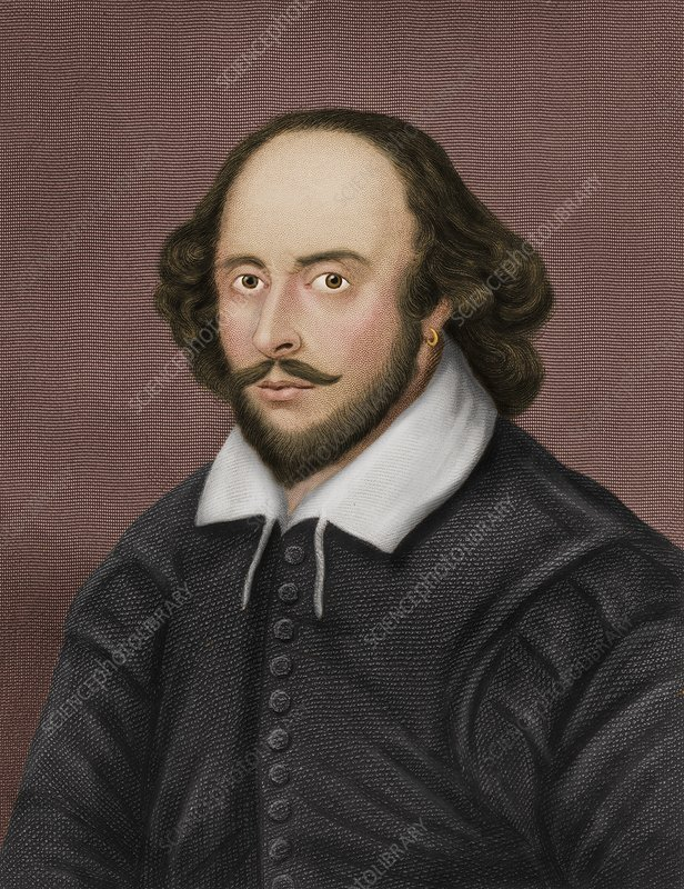 William Shakespeare, English playwright