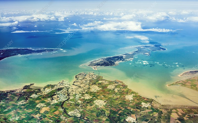 La Rochelle coast and islands, France