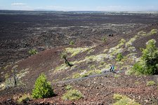 Craters of the Moon landscape