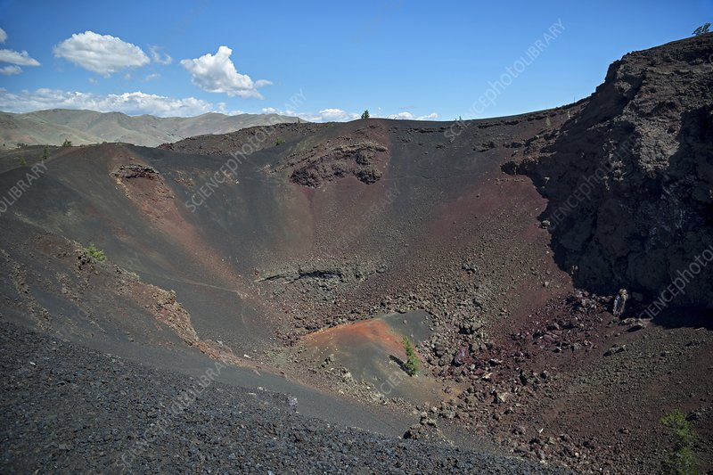 Craters of the Moon volcanic crater