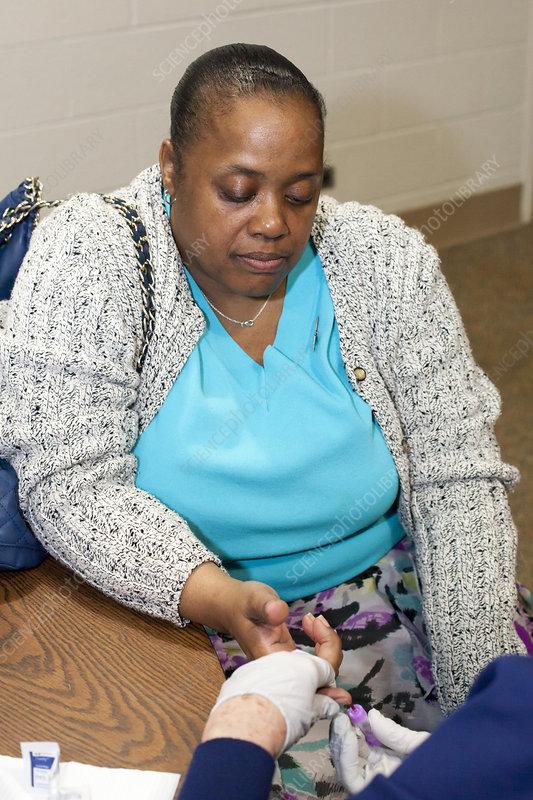 Lead exposure testing, Flint water crisis