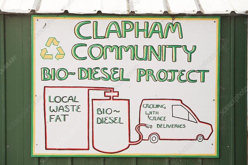 Community biodiesel project