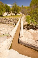 Irrigation channel, Morocco