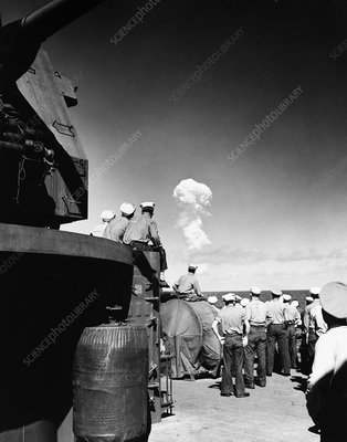 Able Day atom bomb test, 1946