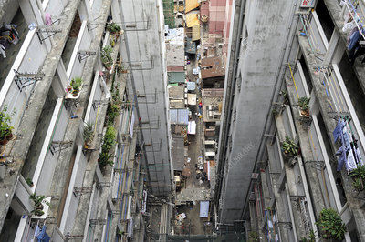 Apartment block, Hong Kong