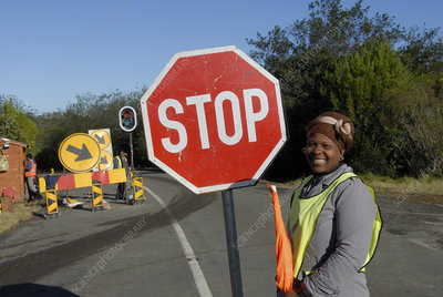Roadworks, South Africa