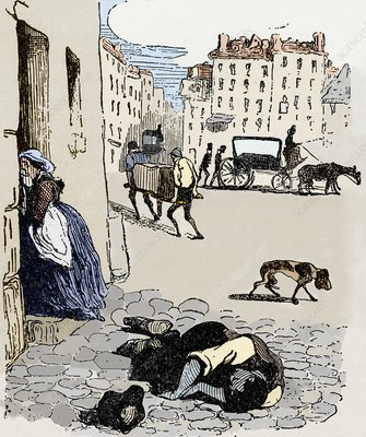 Cholera in Paris