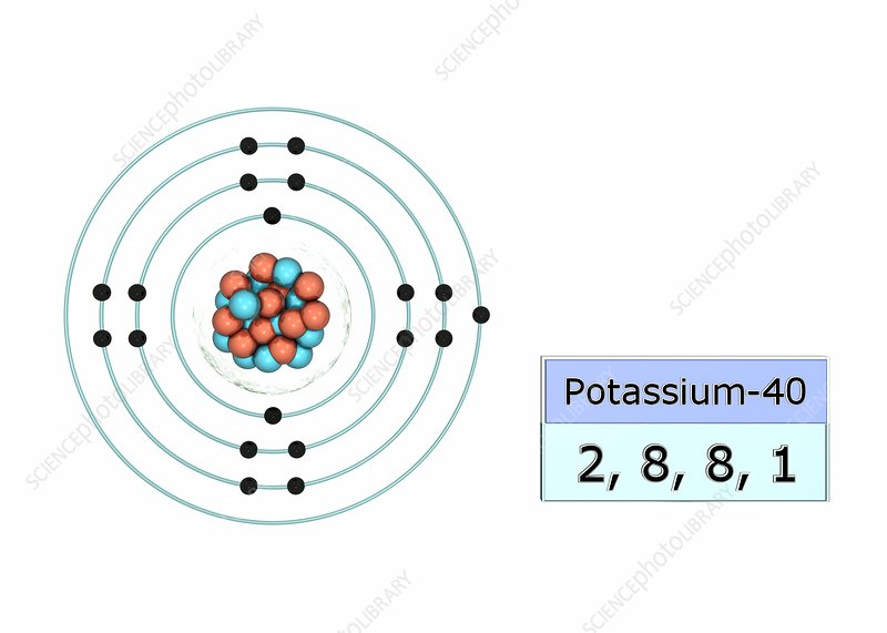 K Electron Configuration Potassium electron con...