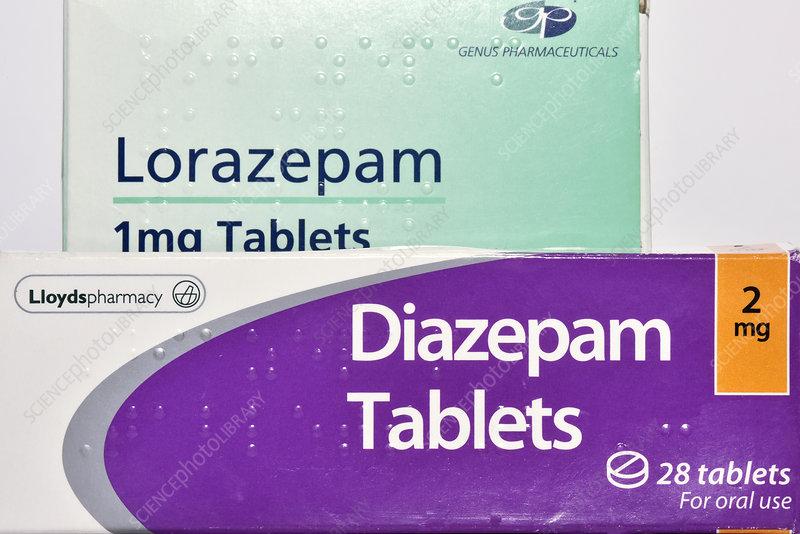 Diazepam 5 mg o lorazepam 1mg