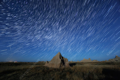 Badlands Star Trails