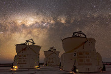 Milky Way over Paranal Observatory