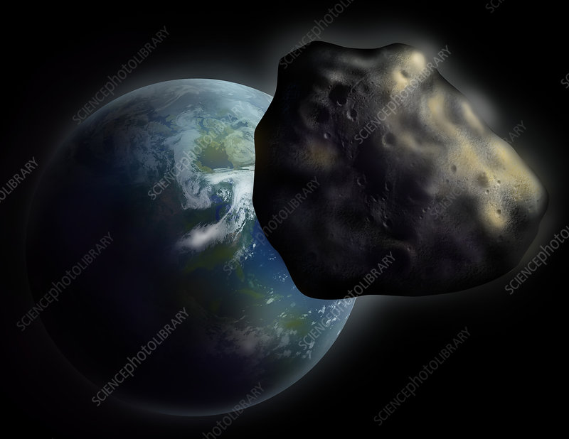 comet or asteroid approaching earth - photo #16