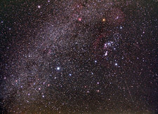 Milky Way and Winter Triangle
