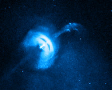 Vela Pulsar Jet, X-Ray, Stacked