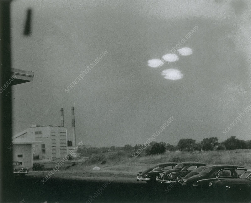 Salem UFO Sighting, 1952