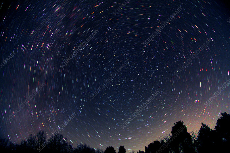 Star Trails & Polaris
