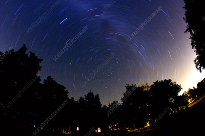 Polaris and Star Trails