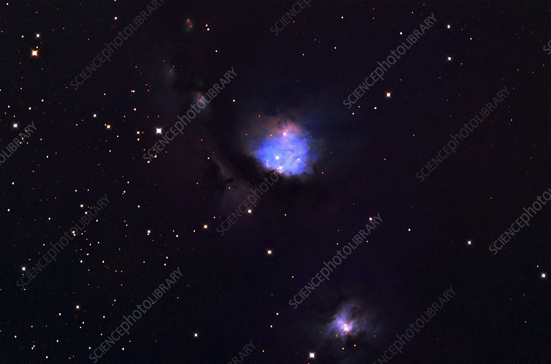 Reflection Nebula M78 in Orion