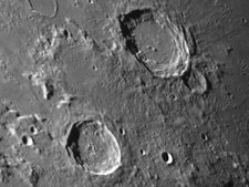 Lunar Craters Aristoteles and Eudoxus