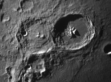 Lunar Craters Theaphilus and Cyrillus