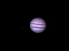 Jupiter and Moon Shadow Transit, 2013