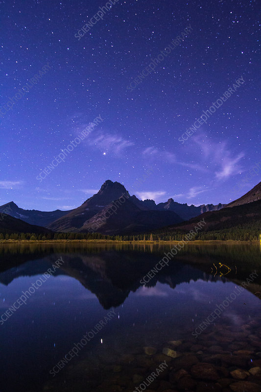 Arcturus, Mt. Wilbur, Swiftcurrent Lake