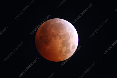 Blood Moon and Eclipse, October 8, 2014