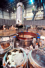 Nuclear reactor assembly, Russia