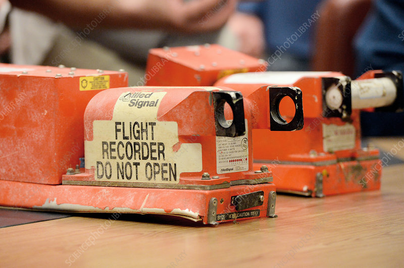 Recovered aircraft flight recorders