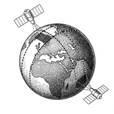 Kosmos weather satellites diagram, 1967