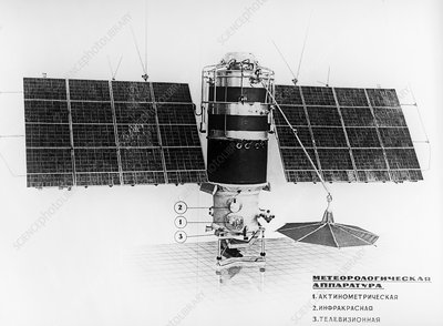 Kosmos 156 weather satellite, 1967