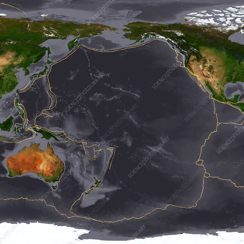 Global tectonics, Pacific Plate
