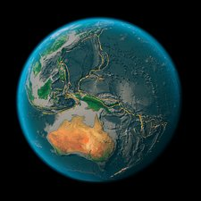 Global tectonics, western Pacific Plate